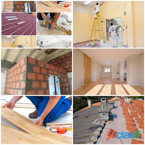 Remodelações Pinturas, Trolha, Pedreiro, Tectos Falsos, Telhados painel Sandwich 8