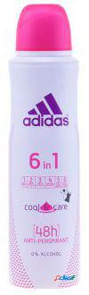 Adidas adidas deodorant 6 in 1 cool and care 150 ml