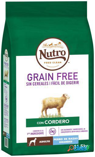 Nutro Grain Free Pienso Natural Cordero Perros Adultos Grandes 14.5 KG