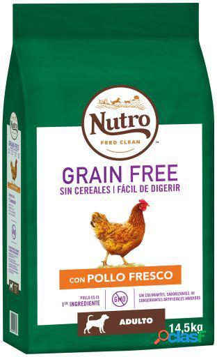 Nutro Grain Free Pienso Natural de Pollo Perros Adultos Medianos