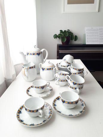 Serviço de café em porcelana para 12 pessoasvista