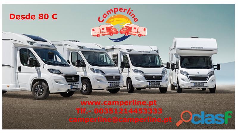 Camperline , aluguer de auto caravanas