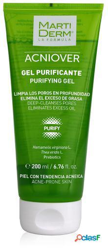 Martiderm gel purificante acniover 200 ml 200 ml