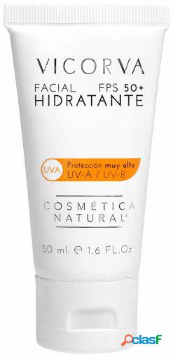 Vicorva crema facial hidratante fps50+ 50 ml