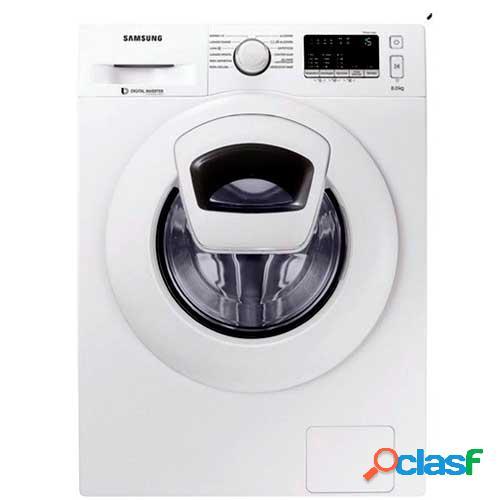 Samsung ww80k4430yw/ec máquina de lavar independente carregamento frontal branco 8 kg 1400 rpm a+++