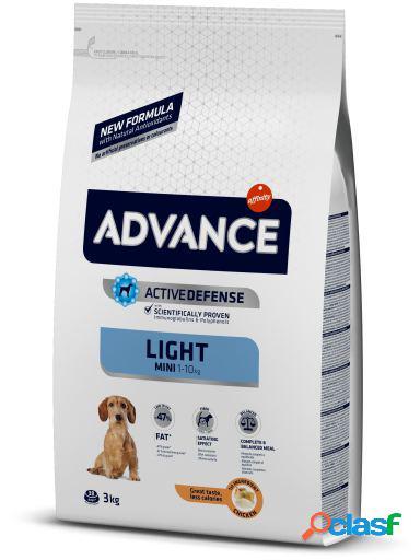Advance Mini Light Frango e Arroz 3 Kg