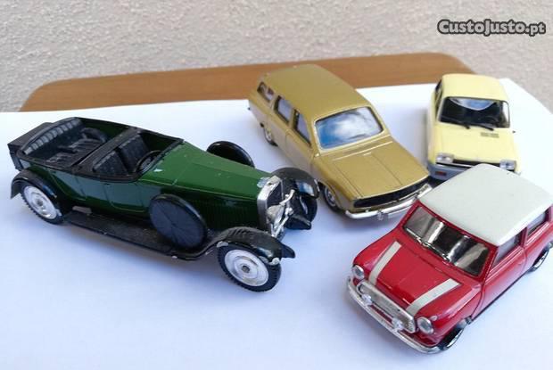 11 carrinhos (miniaturas de marcas reais)