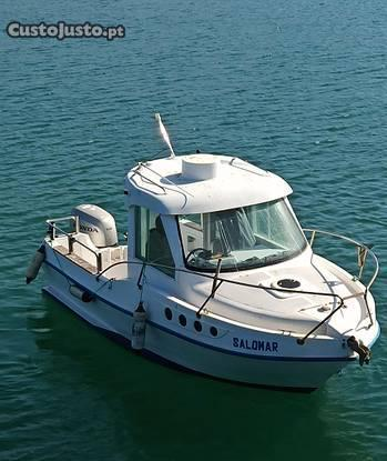 Atlantico barracuda 600 honda bf 150 hp 4t