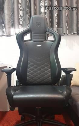 Cadeira gaming noblechairs epic pu leather preta