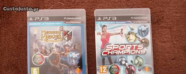 Medieval moves e sports champions ps3