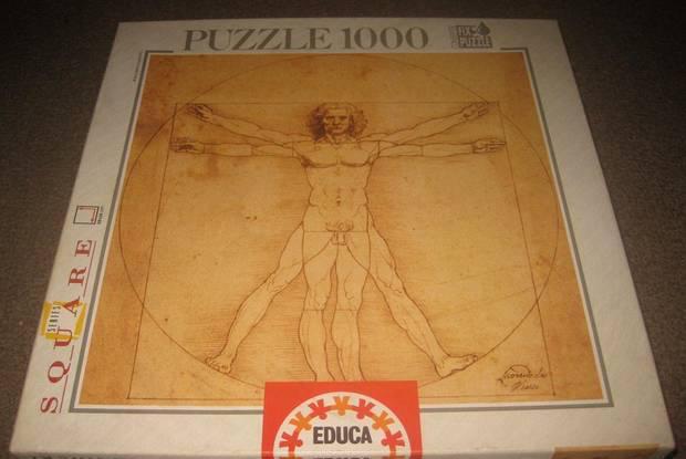 Puzzle de leonardo da vinci