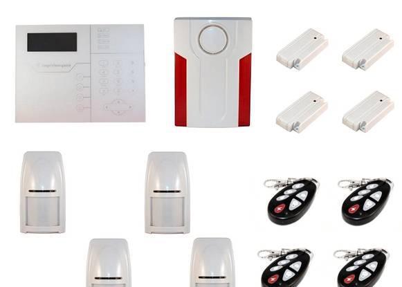 Alarme gsm profissional sem fios bidireccional