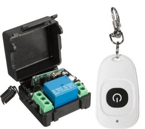 Interruptor comando s/fios electrico motor portao