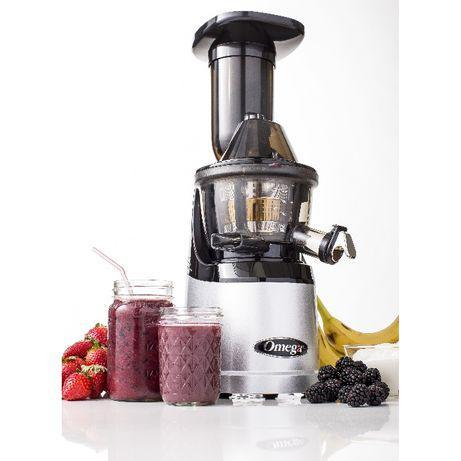 Máquina de sumos extrator de frutas e vegetais- slow juicer