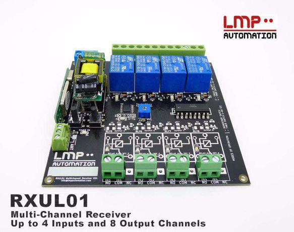 Rxul01 v2receptor/controlador comandos portão,