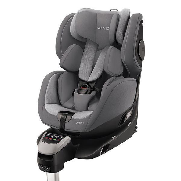 Cadeira recaro zero. 1 i-size 360º aluminium grey