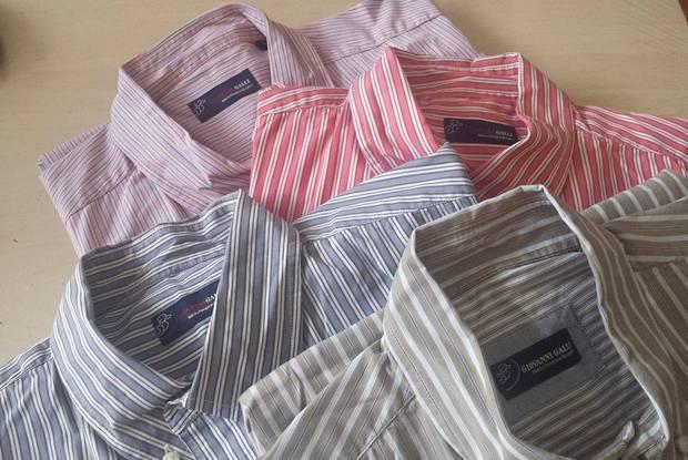 1428 várias camisas homem xl