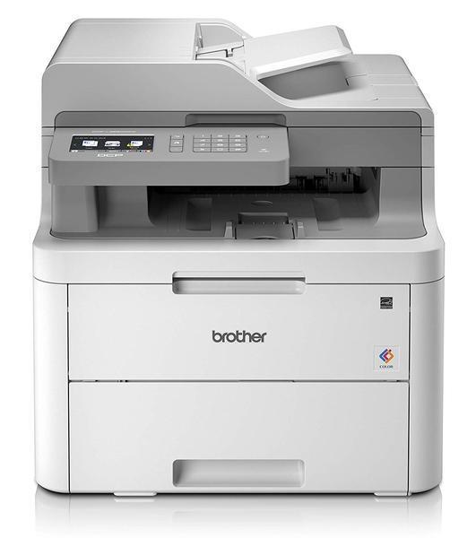 Impressora multifunções brother dcp-l3550cdw laser cores