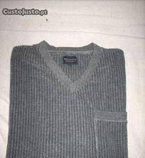 Pijama barreds cor cinza tamanho m