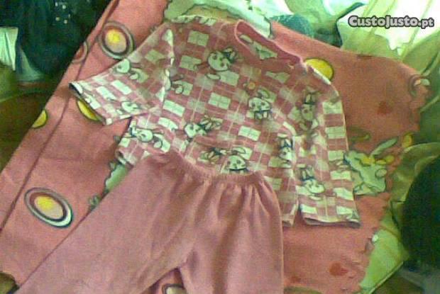 Pijama de menina 6anos com matinha quentinha