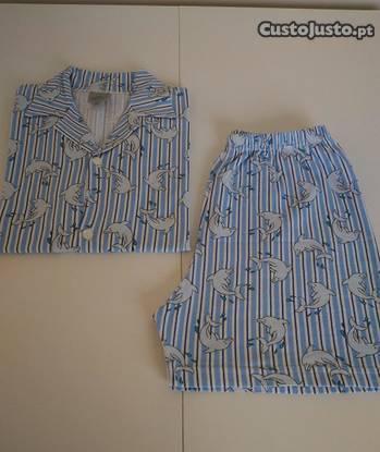 Pijama em 100% algodão para 10/13 anos. sem uso.
