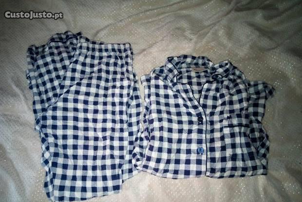 Pijama flanela novo