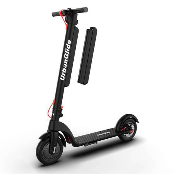 Trotinete elétrica urbanglide ride 100 pro preta