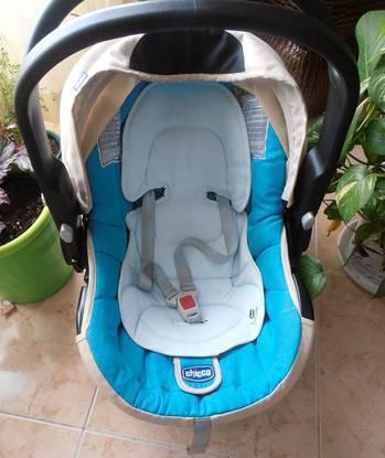 Cadeira auto 0+ (ovo) auto-fix - marca chicco