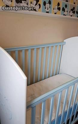 Cama grades bebê e criança + colchão