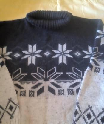 Camisola em lã, tamanho xl