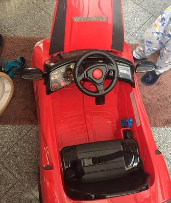 Carro a bateria feber - my real car 6 em 1