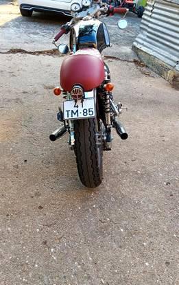 Mash café race 400cc