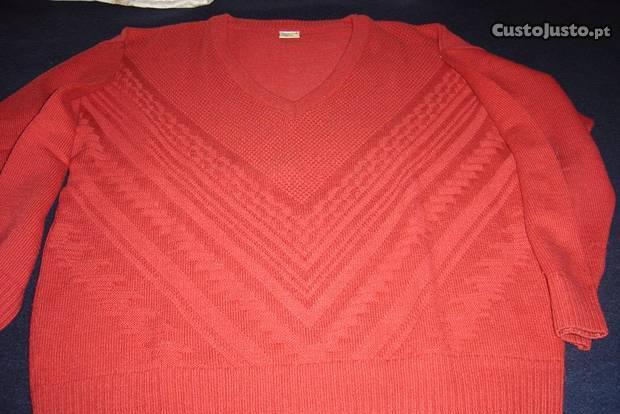 Pack de 2 pullovers e 3 camisas - tamanho l/xl