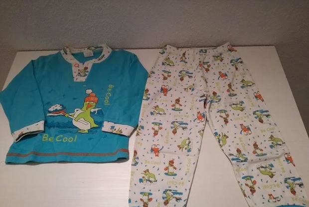 Pijama para criança de 2-3 anos