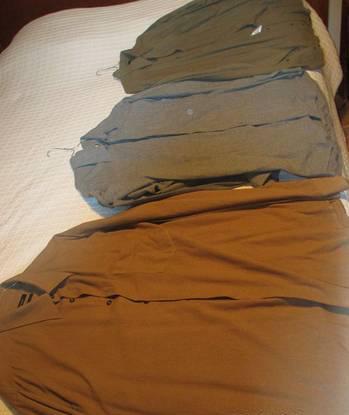 3 camisas para homem - zara xl