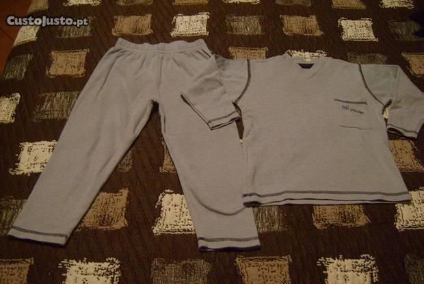 Pijama de algodão 4 anos