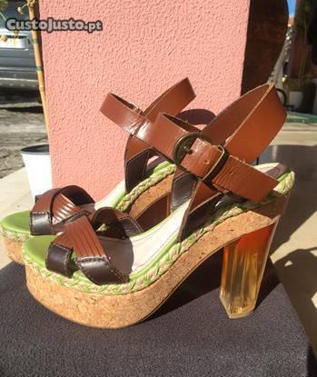 Sandálias altas de verão - nº40