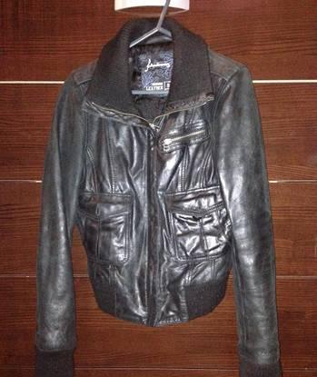 Casaco pele preto stradivarius tamanho s pvp 69eur
