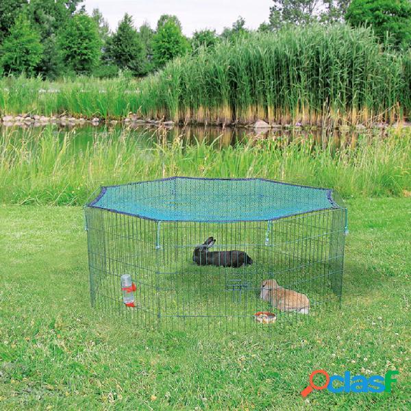Trixie recinto p/ animais exterior rede proteção 60x57 cm verde 62411