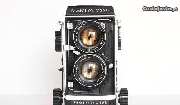 Mamiya c220 + mamiya 80mm 2.8 blue dot