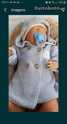 Bebé reborn nova sem roupa das fotos