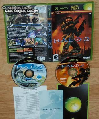 Xbox 360: halo 1 e halo 2