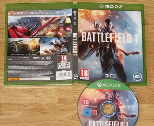 Xbox one: battlefield 1