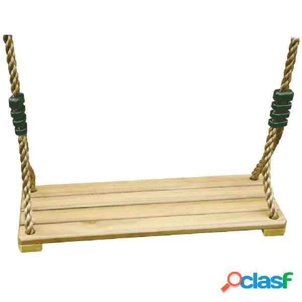 Trigano assento de baloiço madeira p/ conjuntos de 1,9-2,5 m j-478