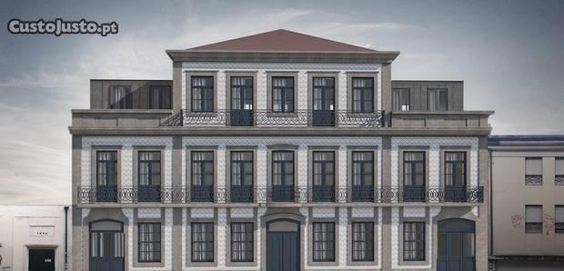 Novo! luxo! t2 c/terraço e varanda! ultimo piso
