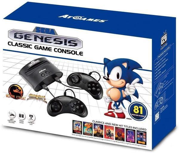 Consola retro sega mega drive sonic 25