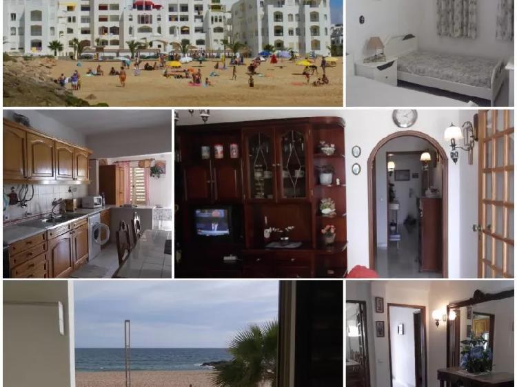 T2 férias em quarteira em frente da praia
