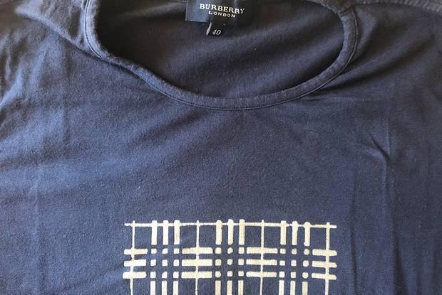 Baixa preço t shirt burberry (portes incluídos)