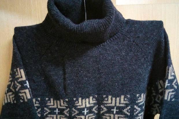 Camisola cinzenta - barred's - tamanho m - nova!