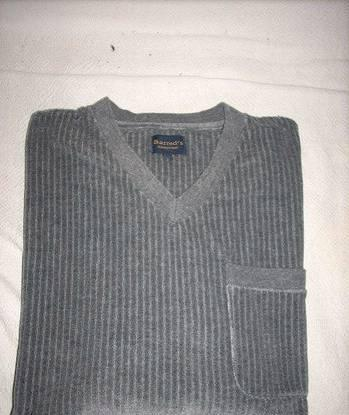 Pijama barreds cor cinza escuro tamanho m (grande)